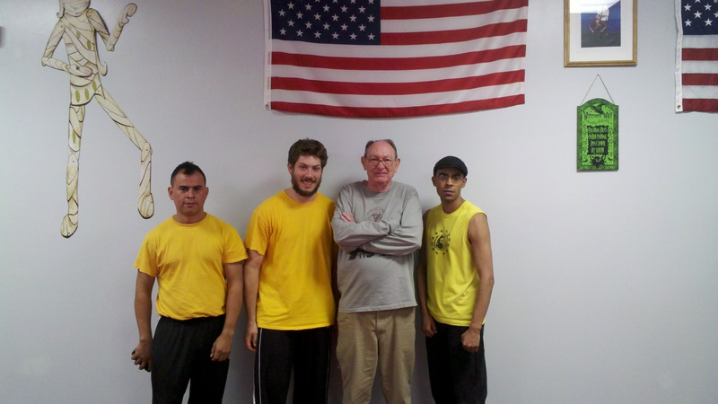 Tim Tacket with the Garcia Boys