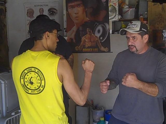 Training with Felix Macias Jr.