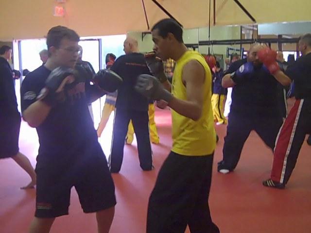 Joe Lewis Training Session